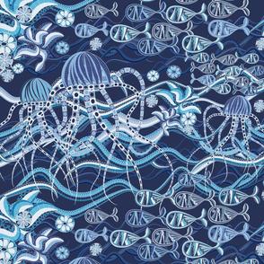 underwater mosaic