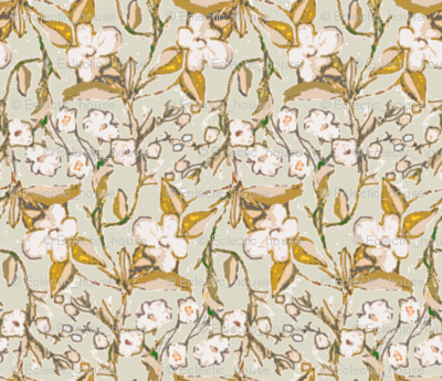 Rrold_fashioned_flowering_vine_in_dull_gold_and_light_sage_preview
