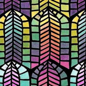 mosaic windows