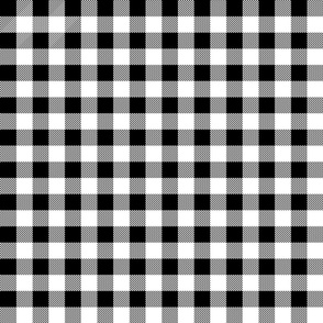 buffalo plaid fabric // black and white buffalo check buffalo plaid fabrics