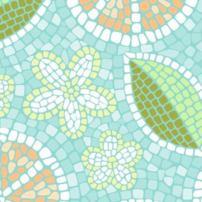 Summer Oranges Mosaic