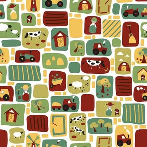 Field mosaic