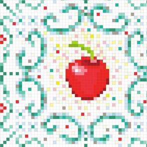 Cherry on the floor