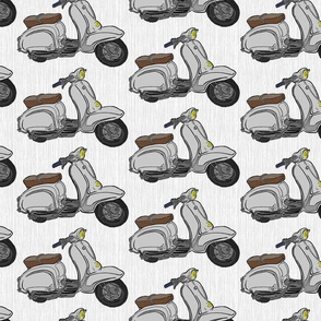 Grey Lambrettas