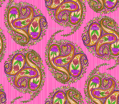 Rspringtime_floral_paisley_on_pink_stripes_preview