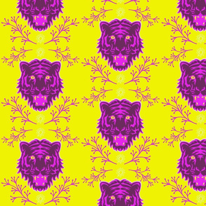 Purple Bengal Tiger