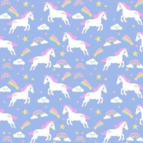 pastel unicorn fabric cute girls unicorns