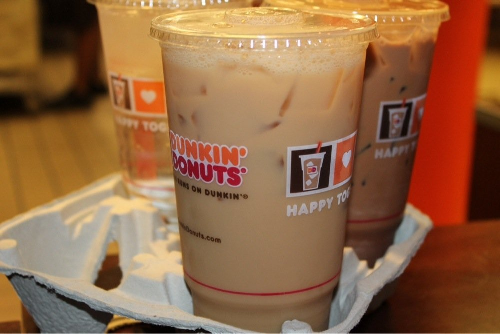 Cafe De Dunkin Donuts