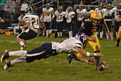 Speed The Name Of The Game For Dewitt Panthers