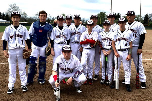 Pony Express Baseball team