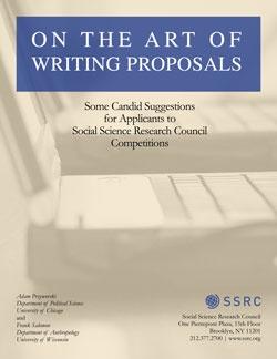 ssrc dissertation writing workshop