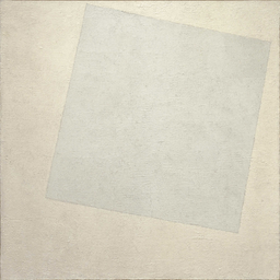 White on White (Malevich, 1918) | Image via Wikimedia Commons