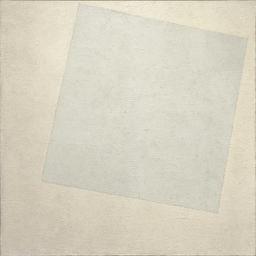 White on White (Malevich, 1918) | Image via Wikimedia Commons