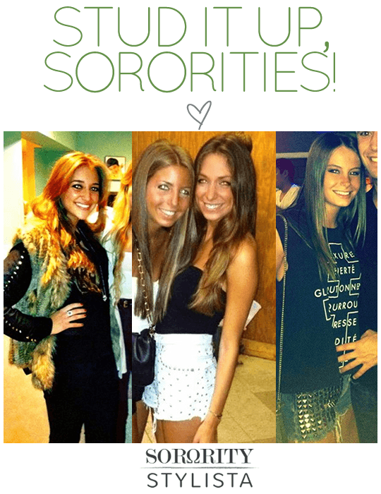 Stud It Up, Sororities!