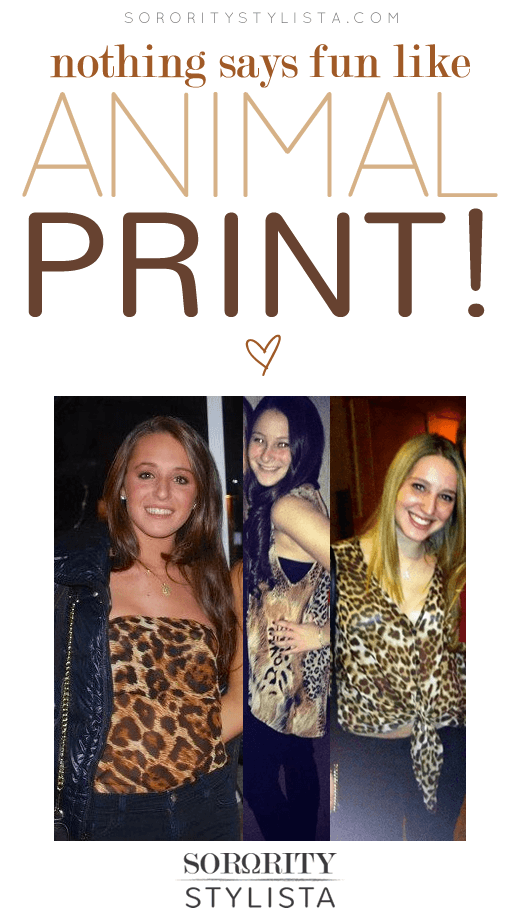 Nothing Says Fun Like Animal Prints!