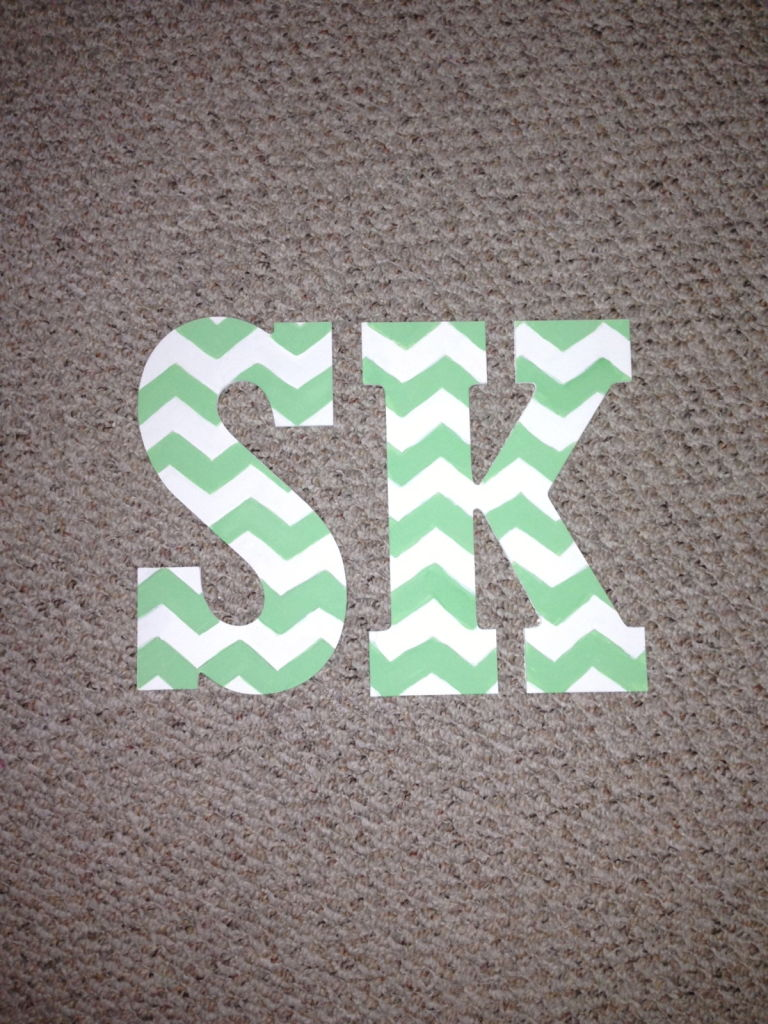 Get Your Craft On With Customized Letters