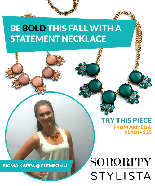 Be Bold This Fall With A Statement Necklace