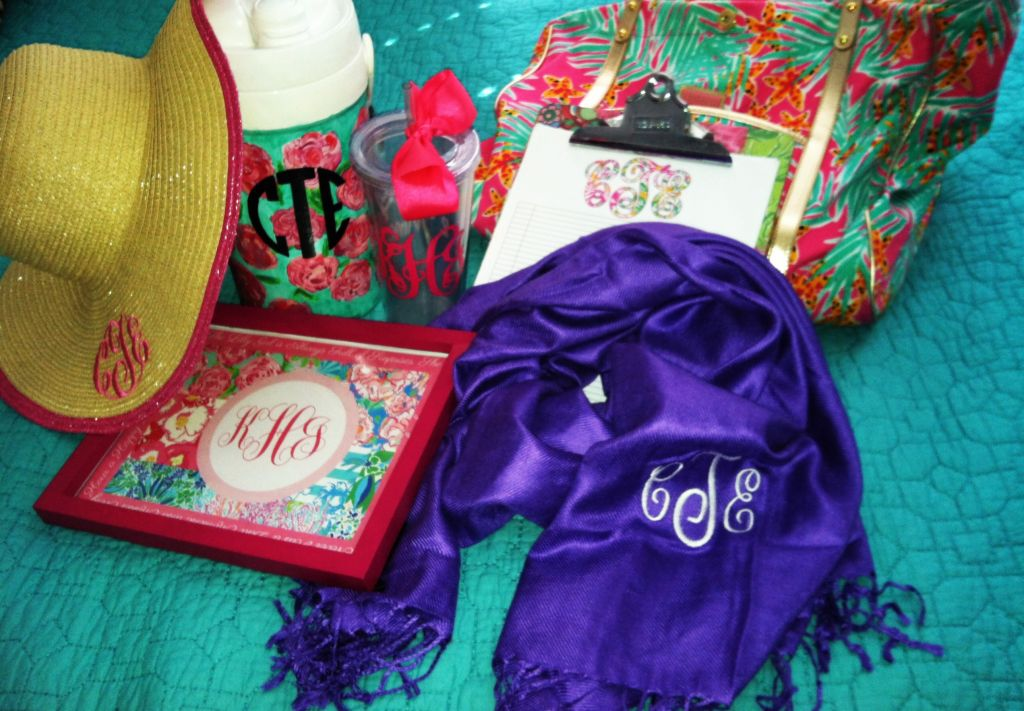Let's Get Personal… With Monogramming!