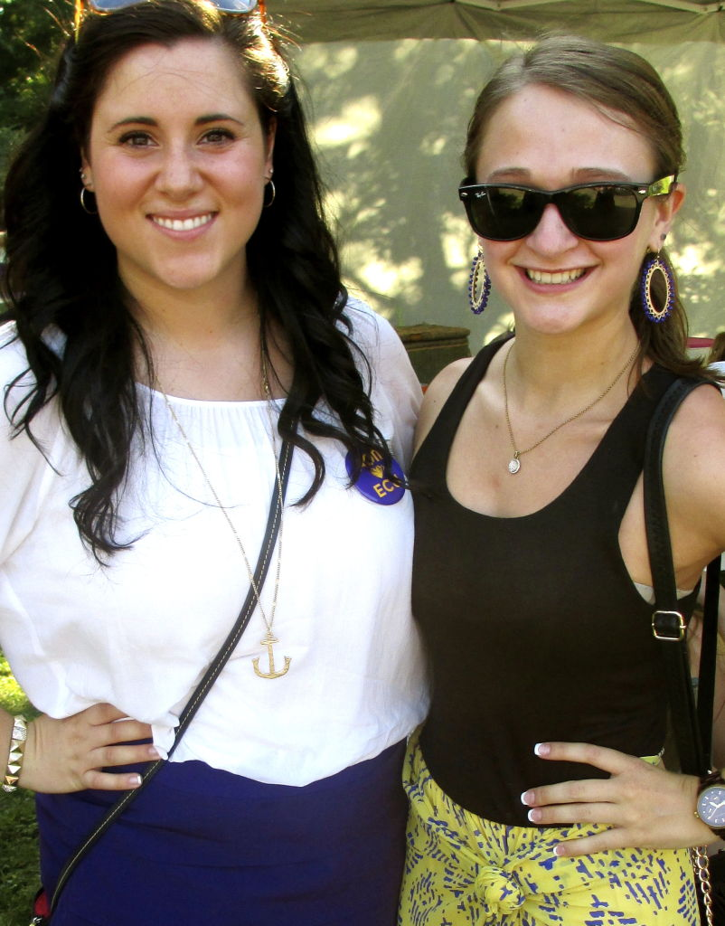 Loyal and Bold, We're The Purple and Gold: AOII Does Game Day Style!