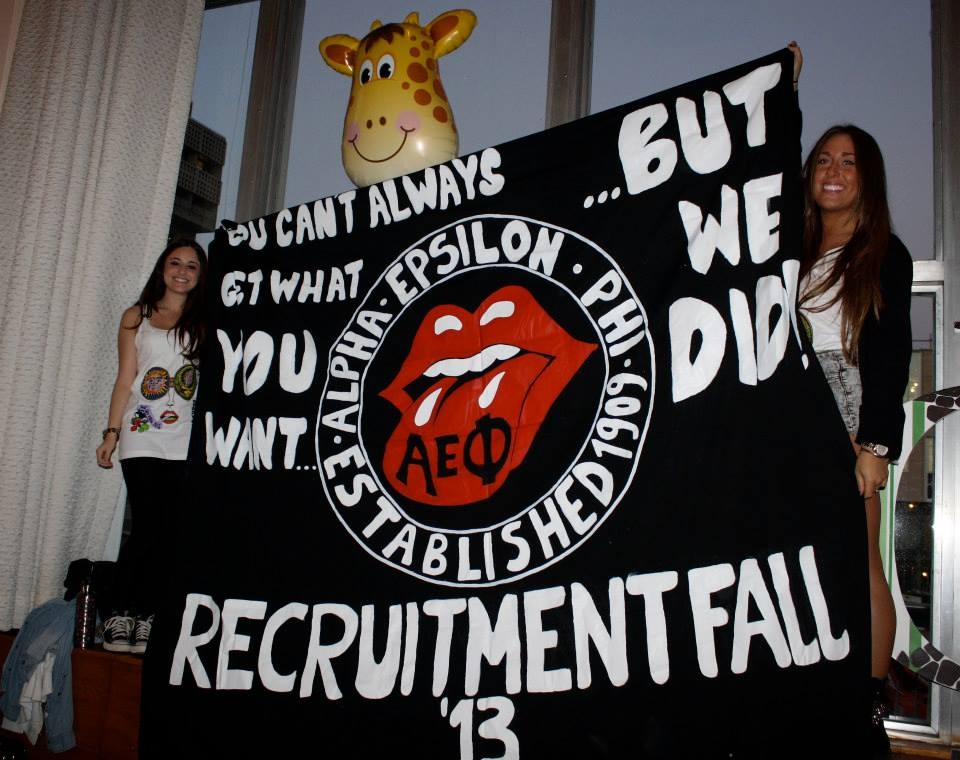 AEPhi Pays Homage to Rock 'n Roll