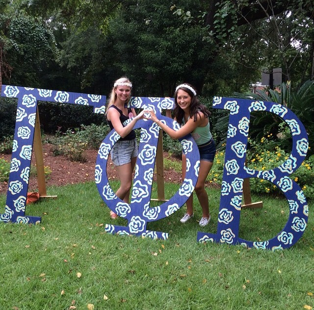 Where My Dreams are Made of Gold – Bid Day 2014
