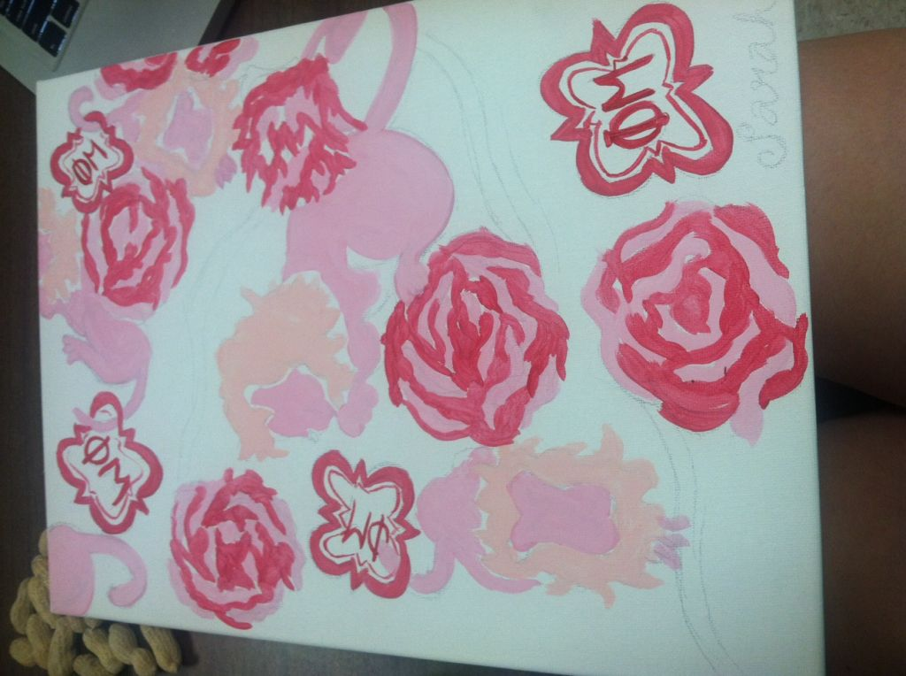 Paint Like Lilly Pulitzer!