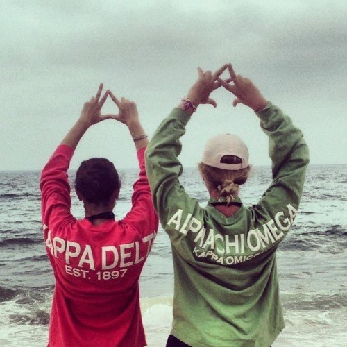It's Christmas Time For Sorority Girls Everywhere… Bid Day!