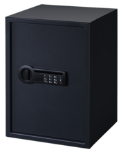 Stack-On Full Sized Gun Security Safes with Fully Carpeted Interior are DOJ approved.