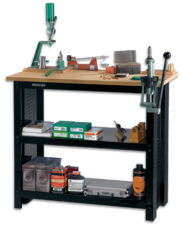 Stack-On Storage Lockers and Workbenches allow you to customize systems to meet your storage and reloading needs.