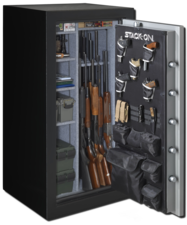 Stack-On Total Defense Series Safes are Fully Convertible, UL  RSC, ETL, Fire Resistant and Waterproof.