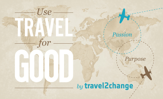 Win $1,000 to use travel for good with travel2change