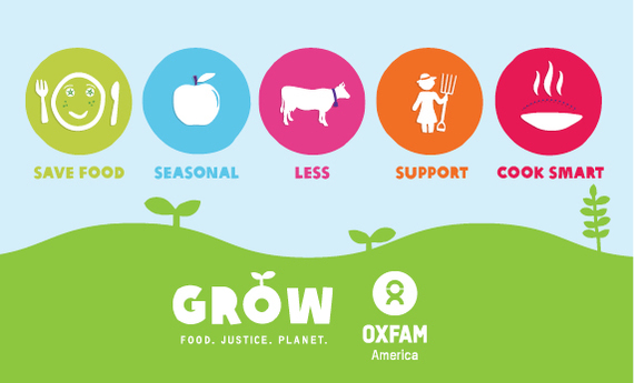 Win $1,000 to GROW a Better World with Oxfam America