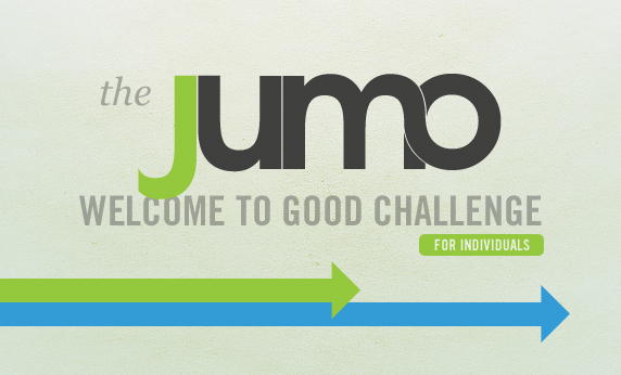 Welcome to GOOD, Jumo!  Share Your Project: Individuals
