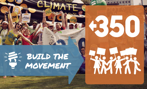 Build the Climate Movement with 350.org