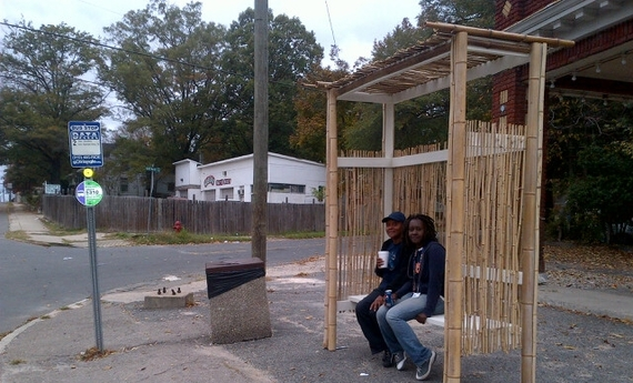 Build A Better Block Community Bus Shelters