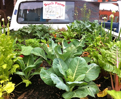 Truck Farmer Shari Brown- bringing more good food and good dirt to the city of Chicago