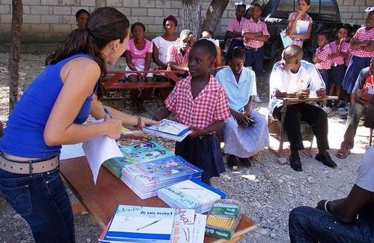 Textbooks For The Book Bank Program In Haiti