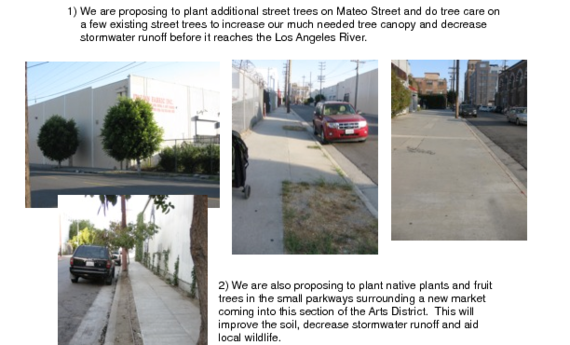 Greening the Arts District in Downtown Los Angeles