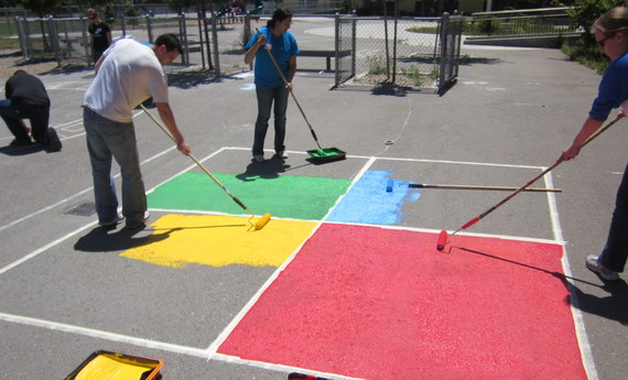 Elementary Playground Transformation with Playworks!
