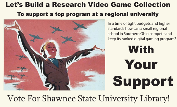 Build a Video Game Research Archive for a Regional University
