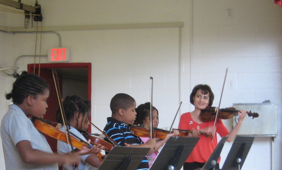 Singing Strings: a DC after-school violin program