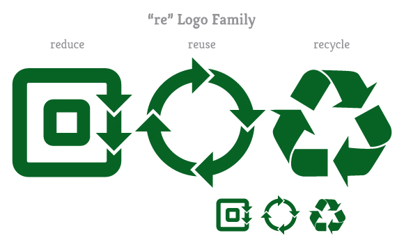 """re"" Logo Family"