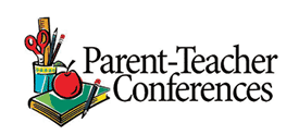 parent-teacher conferences sign