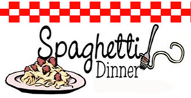 Spaghetti dinner sign