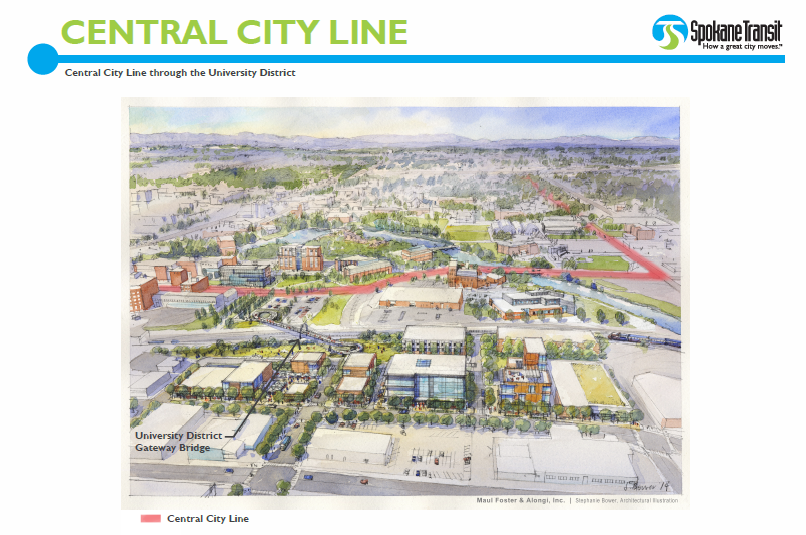 Central City Line High Performance Transit Sta Moving Forward