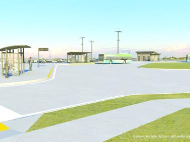 Transit Center Rendering