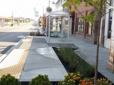 New Amenities along Sprague Ave.