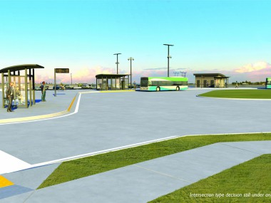 Transit Center Rendering