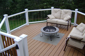 Glass Railing Deck