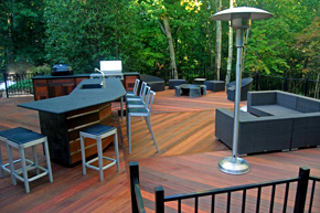 Ipe Deck by Peachtree